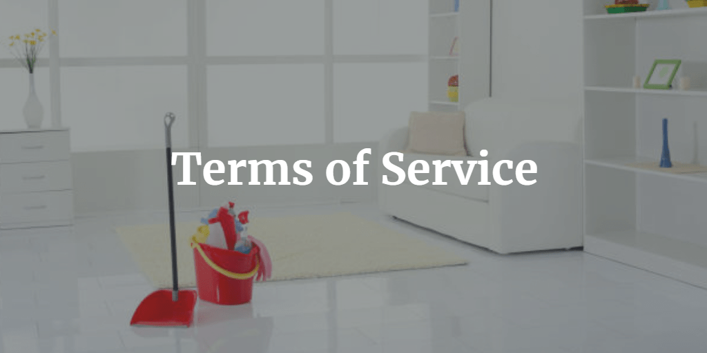 Terms of Service - 360 Precision Cleaning