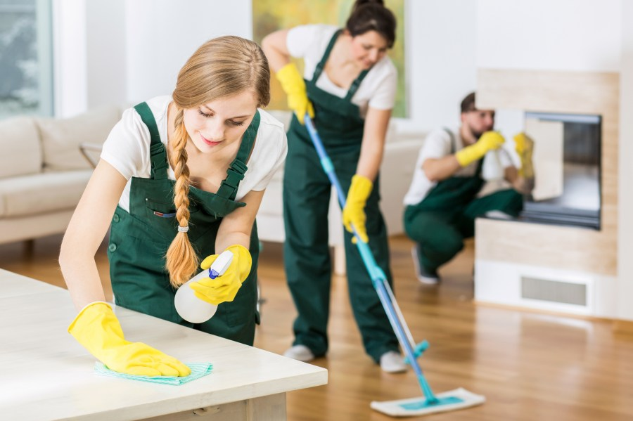 apartment move-out cleaners