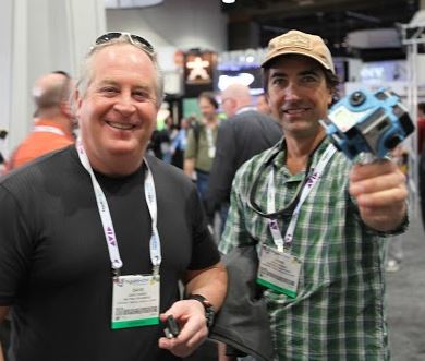 Dave Faires and John Griber proudly holding the 360Heros - H3Pro6 360 Video Gear!