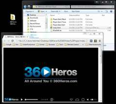 360Rize 360 Video Player using Krpano tools