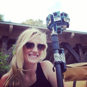 Christina Heller is bringing her documentary film experience to 360 video.