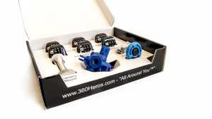 360RIZE 360H6M KIt Contents in box