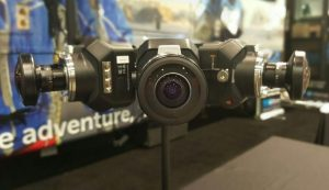 The Helios 360 Blackmagic Design solution on display at NAB.