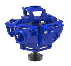 360RIZE Pro6L v2 360° Plug-n-Play Rig for GoPro HERo
