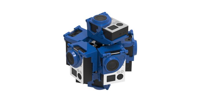 Pro7 Bullet360 virtual reality 360° video gear