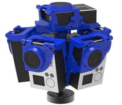 Pro6L v2 360 video rig