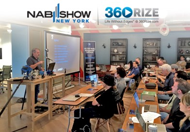 360RIZE & NAB to Host 360 Video Virtual Reality Workshop at NAB New York
