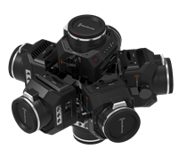 360RIZE 360Helios 7 360° Plug-n-Play Rig for Blackmagic
