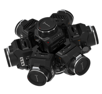 360RIZE 360Helios 8 360° Plug-n-Play Rig for Blackmagic