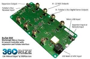 360Rize 360Helios Bullet Control Board and Power
