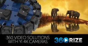 360Rize solutions for YI Cameras