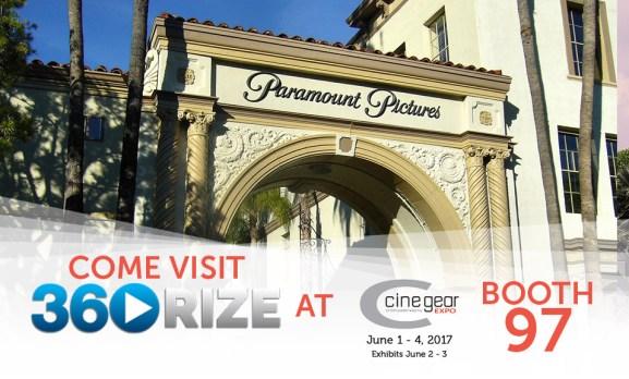 360Rize at Cinegear Expo