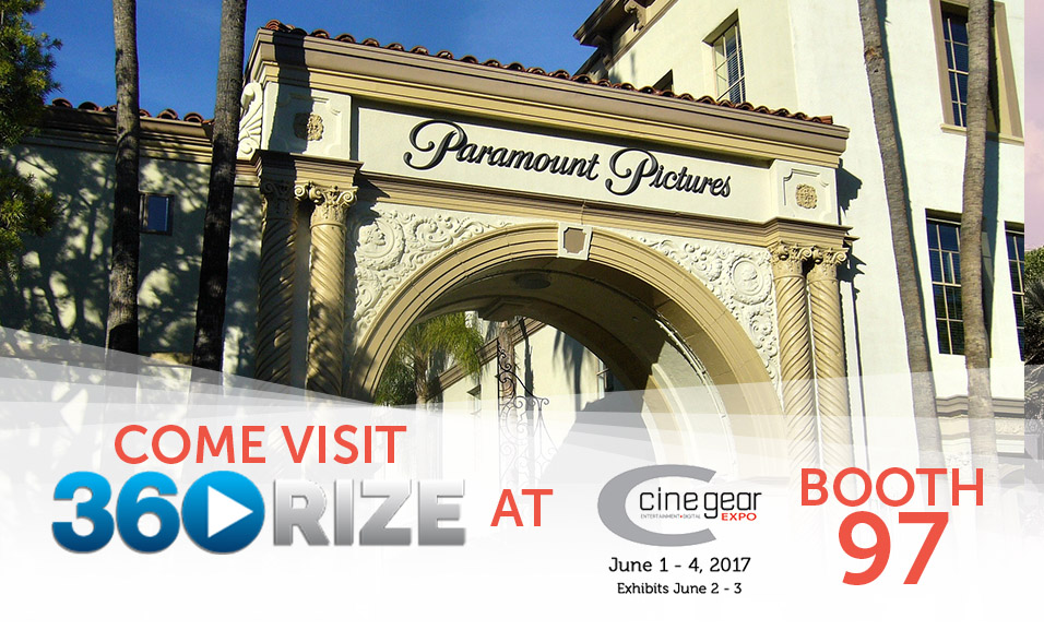 360Rize at Cinegear Expo