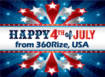 360Rize Happy 4th of July