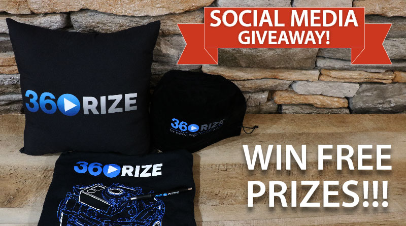360Rize Social Media Giveaway