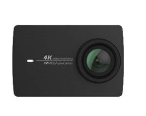Yi 4K Camera Front used by 360Rize