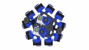 360Rize TCS SyncBac 3DPro Bottom 14 Config Mounts