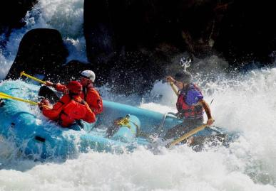 360Rize White Water Rafting