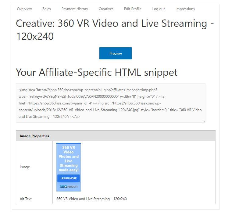 360Rize 360Penguin Creative Assets