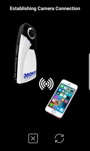 360Rize 360Penguin Screenshot Connection Camera