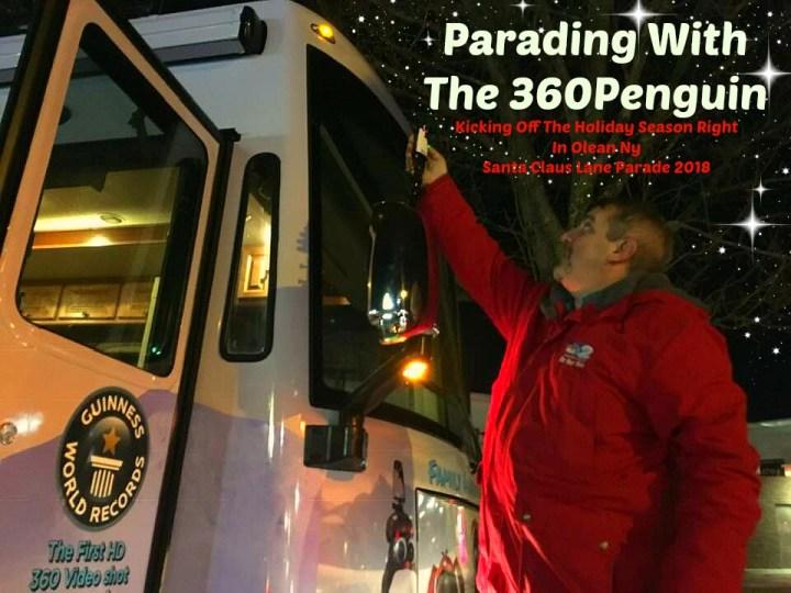 360Rize Santa Parade Penguin