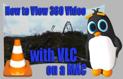 360Rize 360Penguin VLC on a MAC