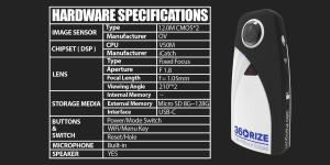 360Rize 360Penguin Hardware Specifications