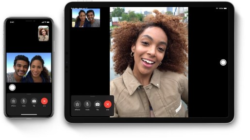 Adjust your Group FaceTime