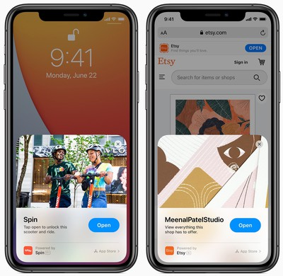 iOS14 App Clips