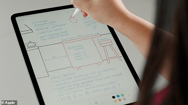Handwriting with iPadOS 14