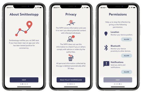 Norway's' Smittestopp App