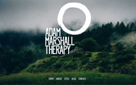 AdamMarshallTherapy.com - Home