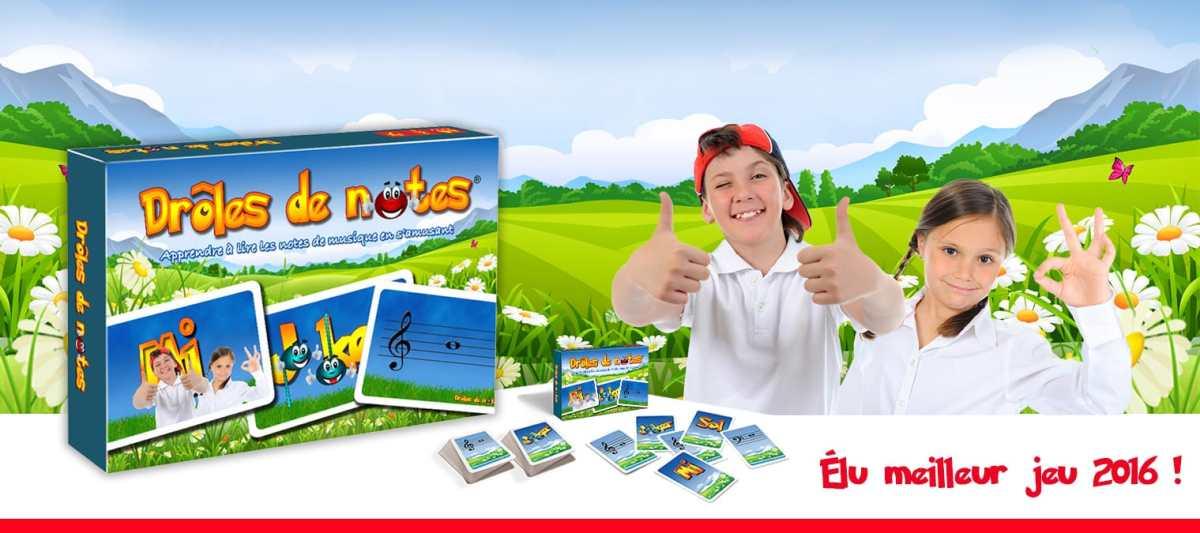 Un jeu pour apprendre les notes en s'amusant, un jeu pour apprendre le solfège de façon ludique