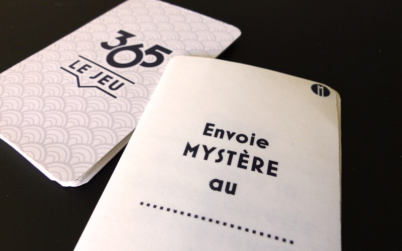 photo 365 carte mystere et dos