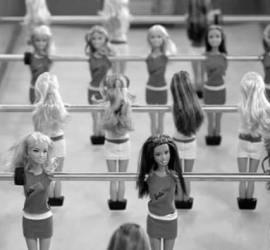 barbie-foot pour 365 le jeu