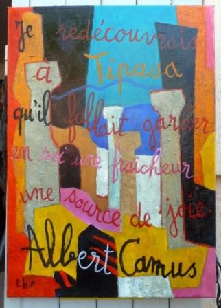 Von Camus inspiriertes Gemälde von Pierre Perraud. © Foto: akr