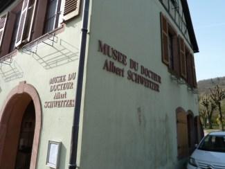 Das Albert Schweitzer-Museum in Kayserberg. ©Foto: akr