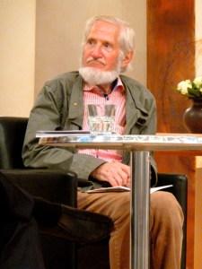 Rupert Neudeck bei der Literatur-Biennale 2014 in Wuppertal. ©Foto: akr