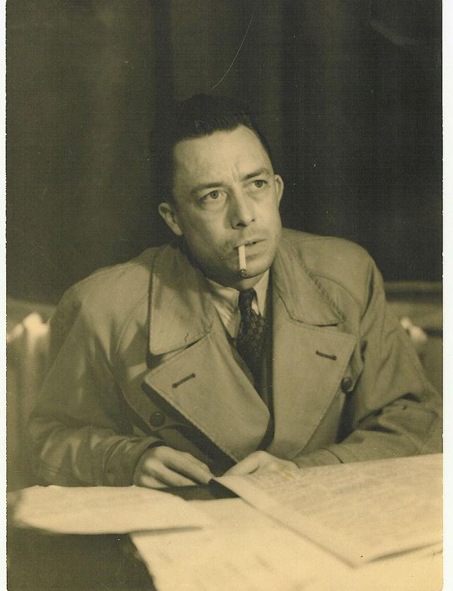 Albert Camus 1957. Foto: Wikicommons