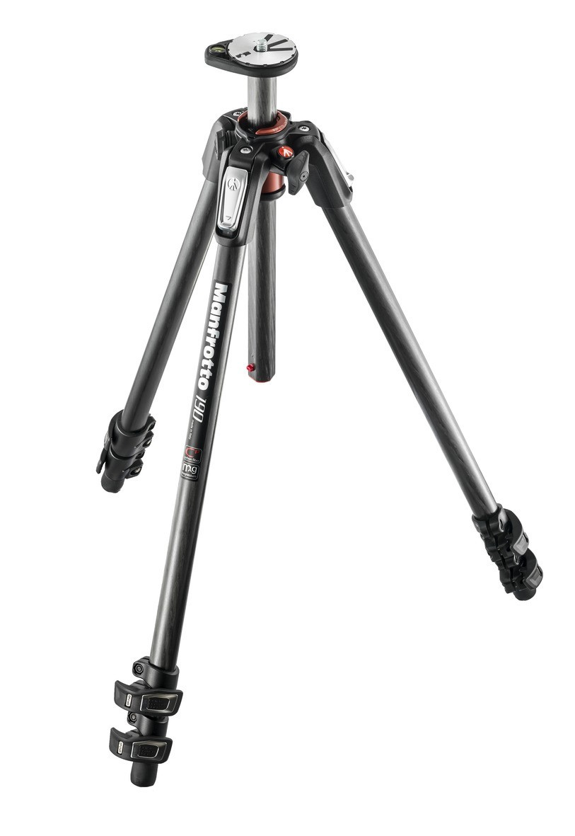 Manfrotto MT190CXPRO3 190 Carbon Fibre 3-section Tripod