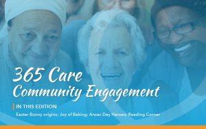 365 Care Community Engagement - April