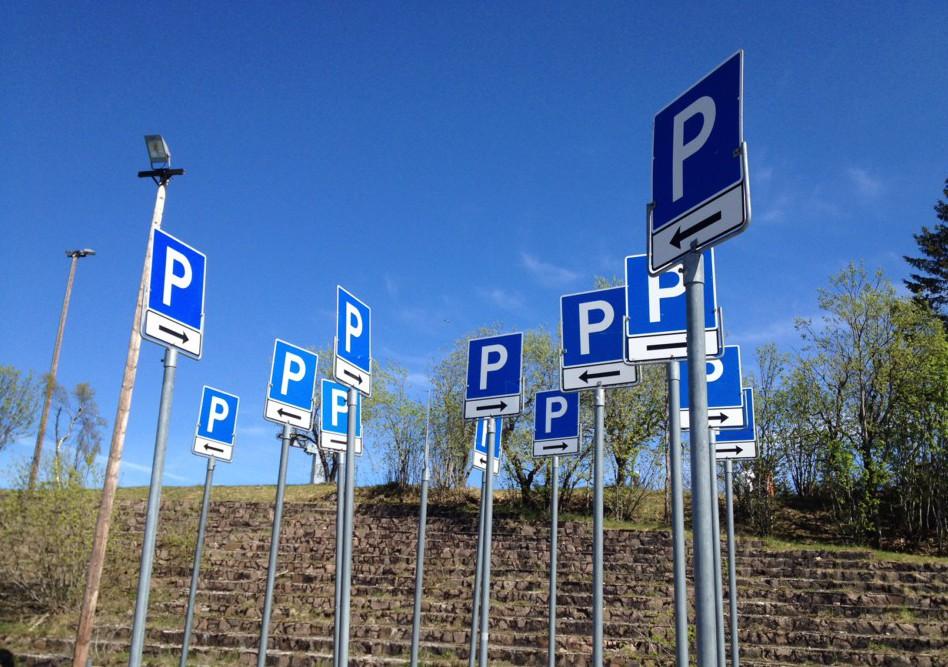 Tom parkeringsplass – syndromet