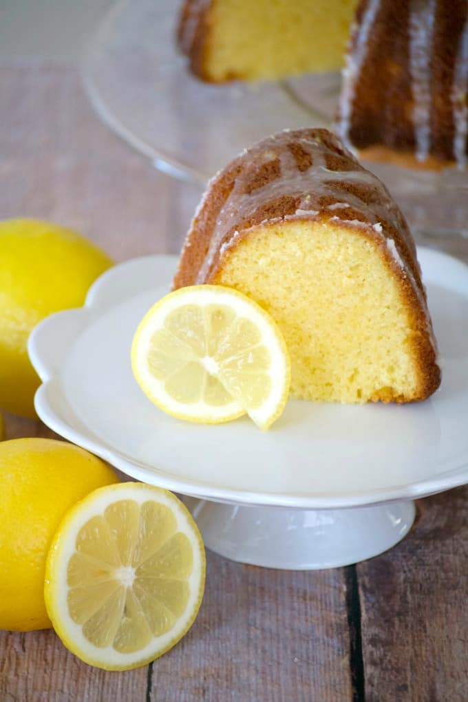 This Easy Lemon Cake is made with a cake mix, lemon gelatin, and Kroger Simple Truth Eggs. A special dessert served at Easter, Mother's Day or year round.