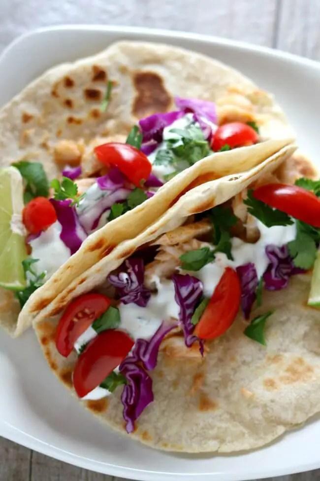 Alaska Cod Fish Tacos