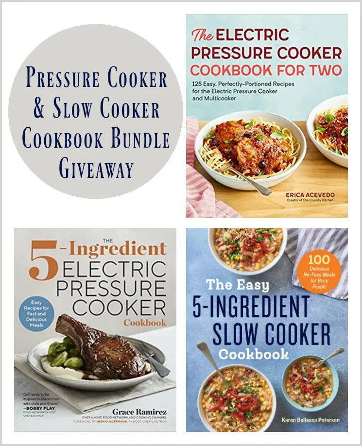 cookbook bundle giveaway 365