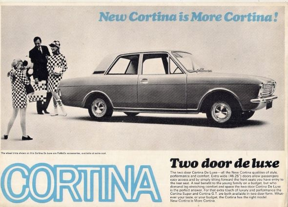 Ford Cortina Mk2 was launched.