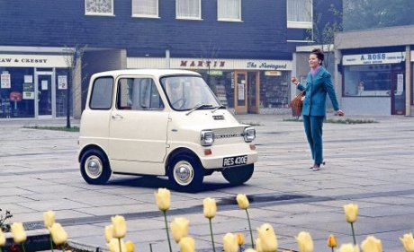 "Ford's 1967 Comuta EV Concept Was a ""City Car for Swinging London"""