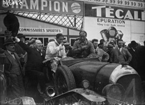 1928 24 Hours of Le Mans 24 winners Woolf Barnato and Bernard Rubin