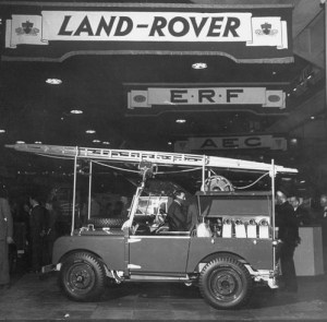 Land Rover - London Motor Show 1948