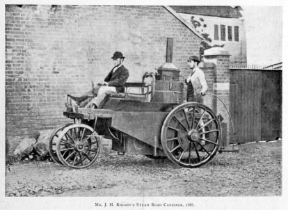 J. H. Knight's Steam Road Carriage - 1868